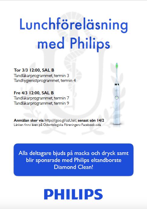 Philips lunchföreläsning